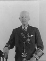 H McPherson Grand Master of Craigellachie Lodge 1933-1935